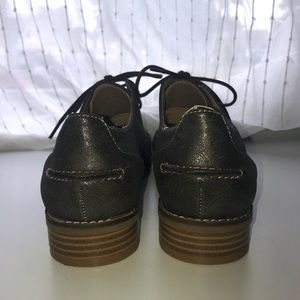 American Eagle Outfitters Shoes - Women's American Eagle Metallic Oxfords (Size 8)